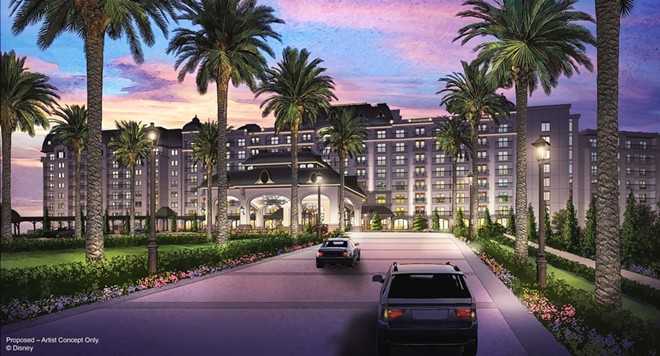 The new Riviera DVC resort at WDW - IMAGE VIA DISNEY