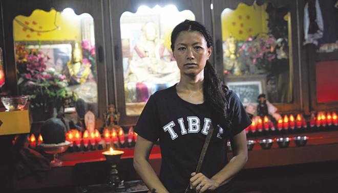 "Tenzin Dolker in ""The Sweet Requiem"" - PHOTO COURTESY JUNO FILMS"