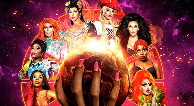 MAGE VIA RUPAUL'S DRAG RACE: WERQ THE WORLD TOUR/FACEBOOK