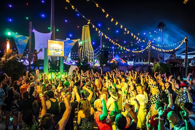 The crowds at EDC 2017 - PHOTO COURTESY EDC/INSOMNIAC