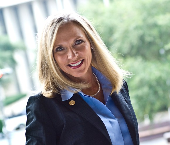 Florida Restaurant and Lodging Association President Carol Dover was paid $620,986 in 2017 - PHOTO VIA FRLA