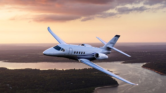 PHOTO OF CESSNA CITATION LATITUDE VIA CESSNA