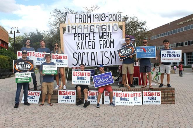 PHOTO VIA COLLEGE REPUBLICANS AT UCF
