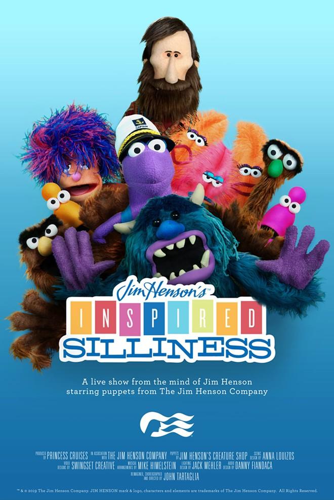 Poster artwork for the new show - IMAGE VIA PRINCESS CRUISES