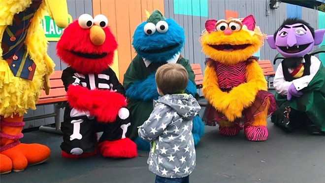Country pop star Carrie Underwood visited Sesame Place in Langhorne, Pennsylvania with her son Isaiah. - PHOTO VIA CARRIE UNDERWOOD/TWITTER