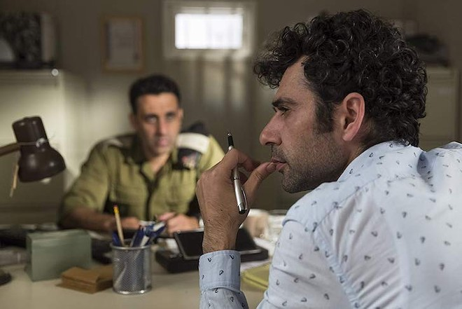 Kais Nashif and Yaniv Biton in Tel Aviv on Fire - IMAGE COURTESY COHEN MEDIA GROUP