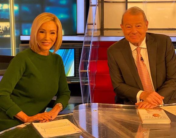 Paula White with Fox News host Fox Business Network host Stuart Varney - PHOTO VIA PAULA WHITE TWITTER
