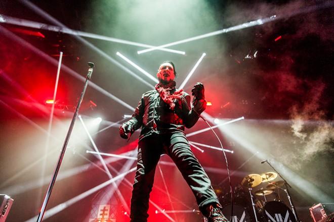 Marilyn Manson - PHOTO BY CARLO CAVALUZZI FOR ORLANDO WEEKLY