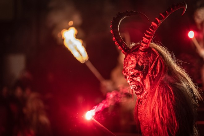 Krampusnacht - PHOTO COURTESY HOLLERBACH'S WILLOW TREE CAFE
