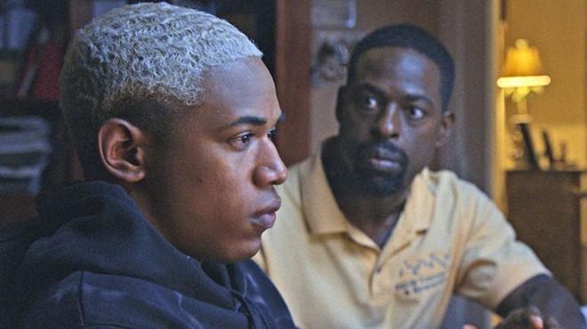 Kelvin Harrison Jr., left, and Sterling K. Brown - PHOTO COURTESY OF ELEVATION