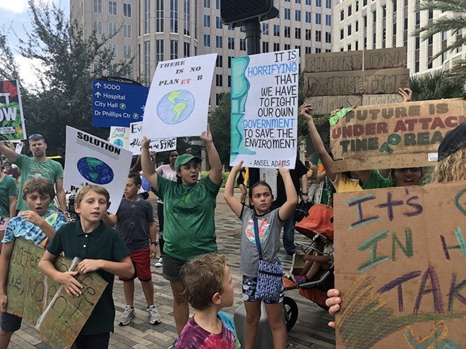 PHOTO OF THE SEPT. 20 CLIMATE STRIKE BY WAVANIE HENRY