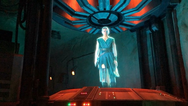 'Star Wars: Galaxy's Edge Rise of the Resistance' - PHOTO BY SETH KUBERSKY