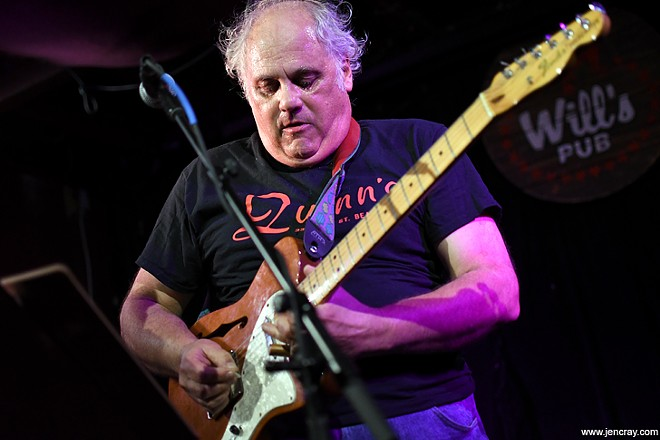 Eugene Chadbourne at Will's Pub - JEN CRAY