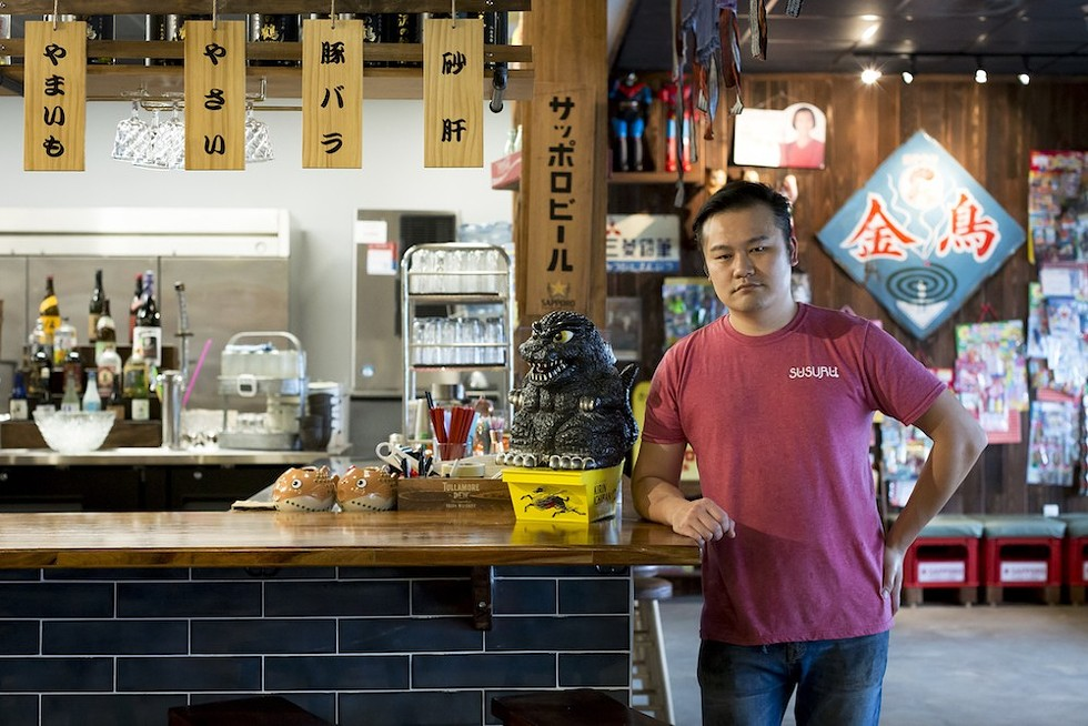 Lewis Lin, chef-owner of Susuru - PHOTO BY ROB BARTLETT