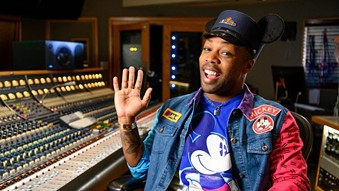 Todrick Hall co-composing new songs for Disneyland's Magic Happens parade - IMAGE VIA DISNEY