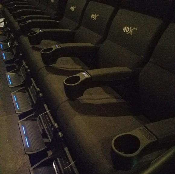 4DX Theater at Pointe Orlando - IMAGE VIA KEN STOREY