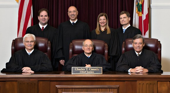 The Florida Supreme Court in 2019 - PHOTO VIA FLORIDA SUPREME COURT/WIKIMEDIA COMMONS