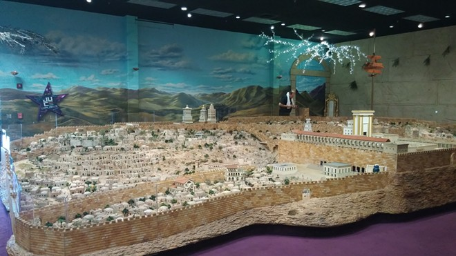 The First Century Jerusalem model that began the entire attraction now known as the Holy Land Experience. - IMAGE VIA KEN STOREY