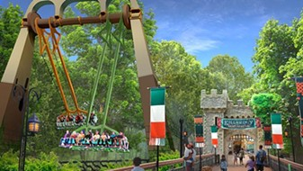 Finnegan's Flyers at Busch Gardens Williamsburg. Opening in 2019 - IMAGE VIA BUSCH GARDENS WILLIAMSBURG
