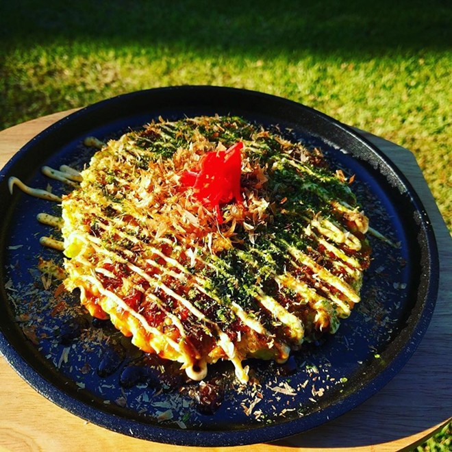 Okonomiyaki - PHOTO BY FAIYAZ KARA