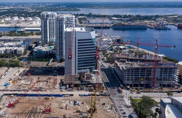 Tampa Bay Lightning owner Jeff Vinik's massive new Water Street Tampa project - PHOTO VIA WATER STREET TAMPA/FACEBOOK