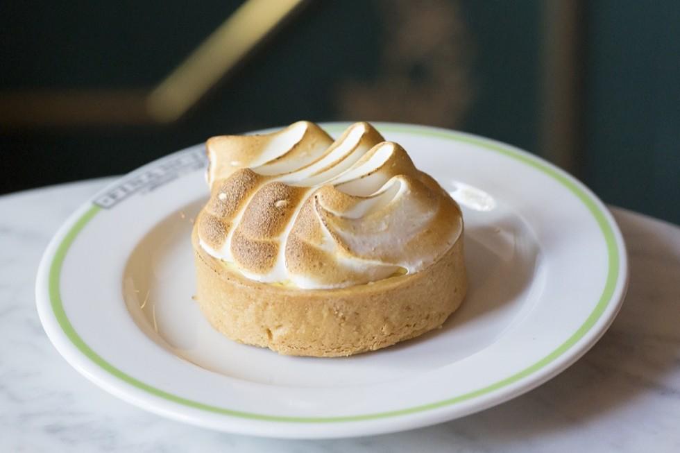 Lemon meringue tart at Financier Patisserie - PHOTO BY ROB BARTLETT