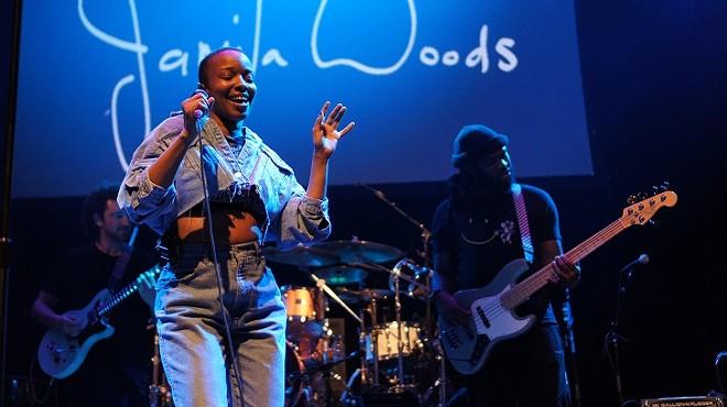 Jamila Woods at the Plaza Live - MICHAEL LOTHROP