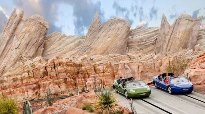 Radiator Springs Racers at Disney California Adventure - IMAGE VIA DISNEY