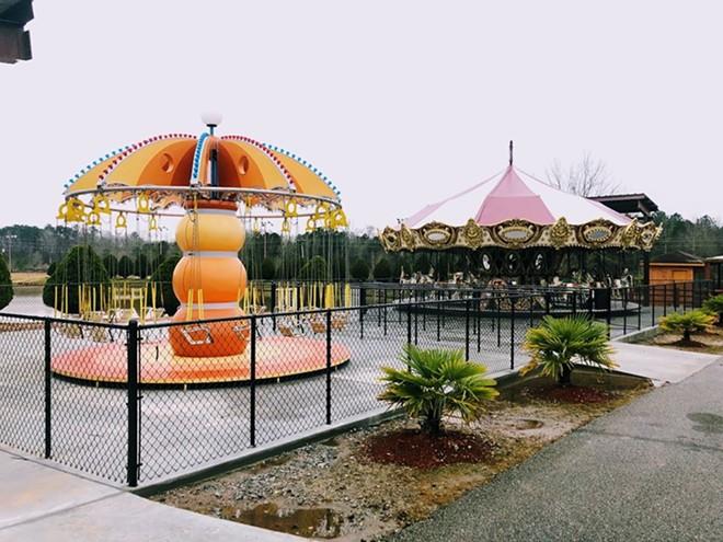 Two of the attractions at Fun Spot Atlanta that were previously found at Coney Island in Ohio - IMAGE VIA FUN SPOT ATLANTA   FACEBOOK