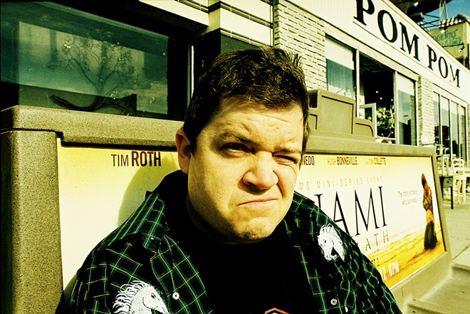 Patton Oswalt - PHOTO COURTESY SUB POP RECORDS