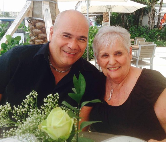 Terry DeCarlo with his mother, Anne Fabrikant - PHOTO VIA TERRY DECARLO/FACEBOOK