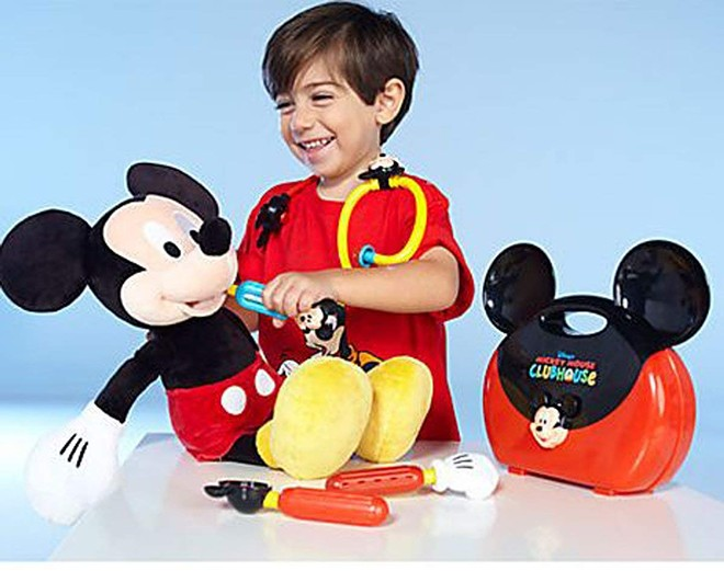 "The ""Disney Mickey Mouse Clubhouse Mickey Mouse Doctor Play Set"" - PHOTO VIA DISNEY/AMAZON"