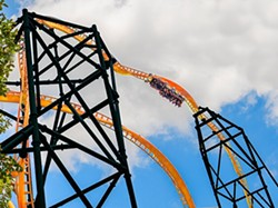Tigris at Busch Gardens Tampa, one of three Sky Rocket II coasters SeaWorld has added to its parks within the past 4 years. - IMAGE VIA BUSCH GARDENS TAMPA