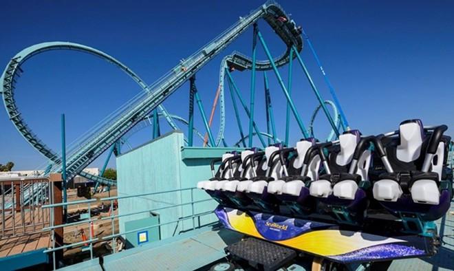 Emperor, SeaWorld San Diego's new floorless dive coaster - IMAGE VIA SEAWORLD | FACEBOOK
