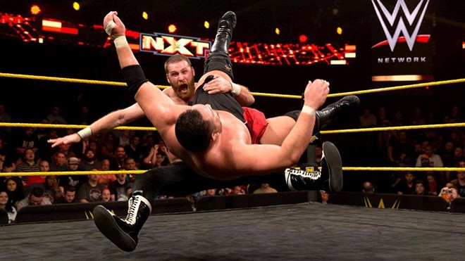 Samoa Joe vs. Sami Zayn - VIA FACEBOOK