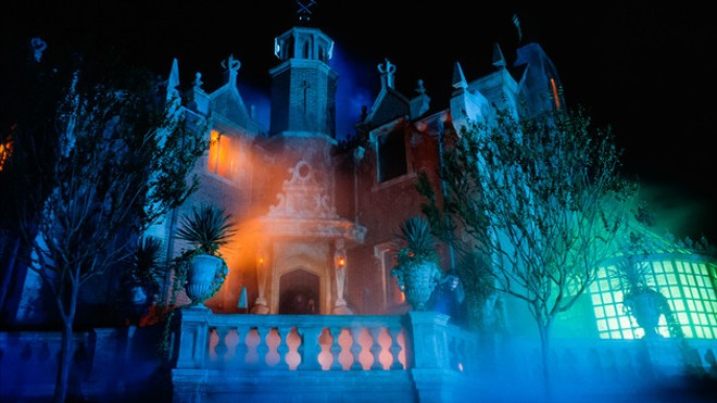 The Haunted Mansion - PHOTO VIA DISNEY