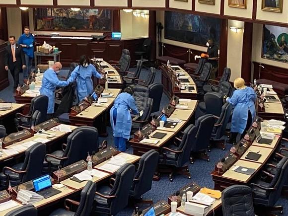 The Florida House of Representatives on Monday - PHOTO BY NEWS SERVICE FLORIDA