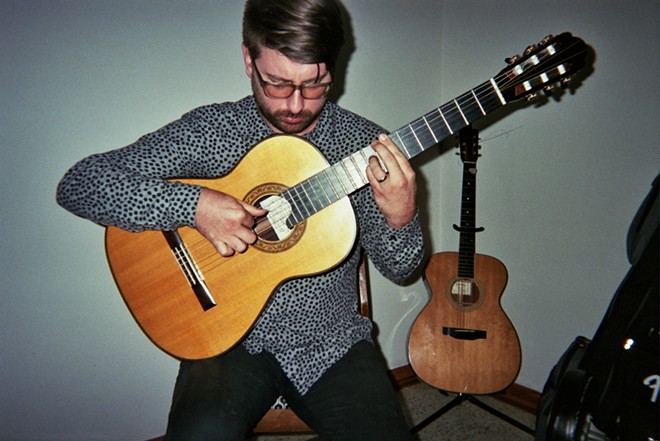 Chris Belt live at the Dining Room - PHOTO BY MATTHEW MOYER