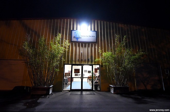 The Blue Bamboo Center for the Arts - PHOTO BY JEN CRAY