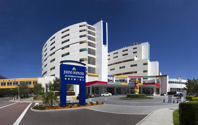 PHOTO VIA JOHNS HOPKINS ALL CHILDREN'S HOSPITAL/FACEBOOK