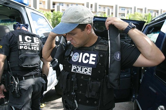PHOTO VIA U.S. IMMIGRATION AND CUSTOMS ENFORCEMENT/WIKIMEDIA COMMONS