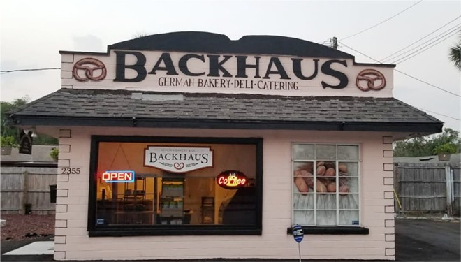 The new Backhaus Bakery in Mount Dora