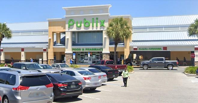 Publix store south of downtown Orlando at 2873 S. Orange Ave. - IMAGE VIA GOOGLE MAPS