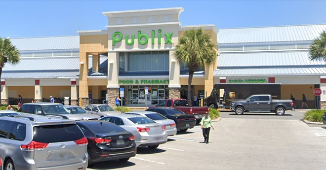 Publix store south of downtown Orlando at 2873 S. Orange Ave. - IMAGE VIA GOOGLE MAPS