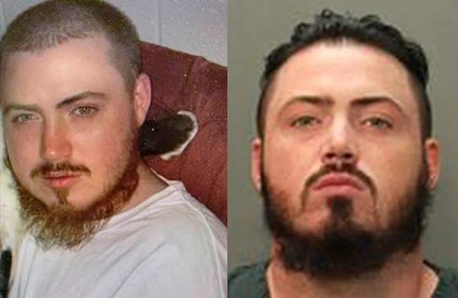Murder suspect Mario Matthew Gatti - PHOTOS VIA AROLD POLICE AND JACKSONVILLE BEACH POLICE