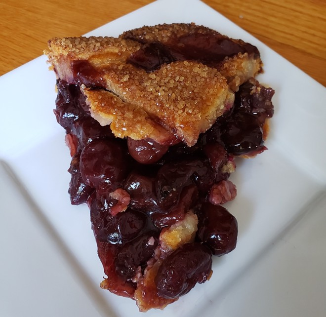 'I was aching to have a Dale Cooper moment with a slab of cherry pie.' - PHOTO BY FAIYA KARA