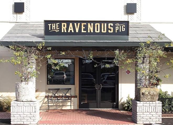 PHOTO VIA THE RAVENOUS PIG/INSTAGRAM