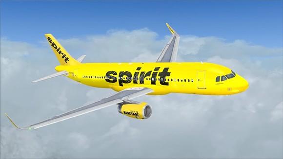 PHOTO VIA AIRBUS/SPIRIT AIRLINES