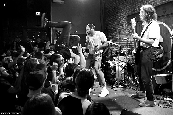 Cermony live at the Social in the pre-social distancing age - PHOTO BY JEN CRAY FOR ORLANDO WEEKLY