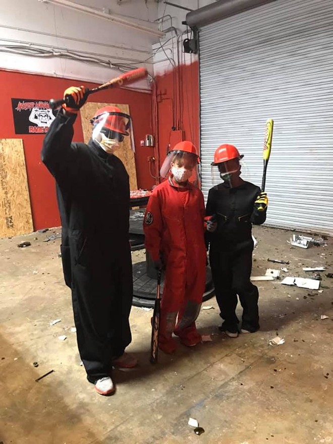PHOTO VIA ANGER MANAGEMENT RAGE ROOM ORLANDO/FACEBOOK